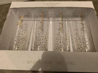 Isaac Mizrahi Champagne Flutes Thumbnail