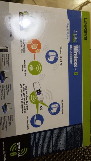 Linksys USB Adapter for Sale in Garden Grove, CA
