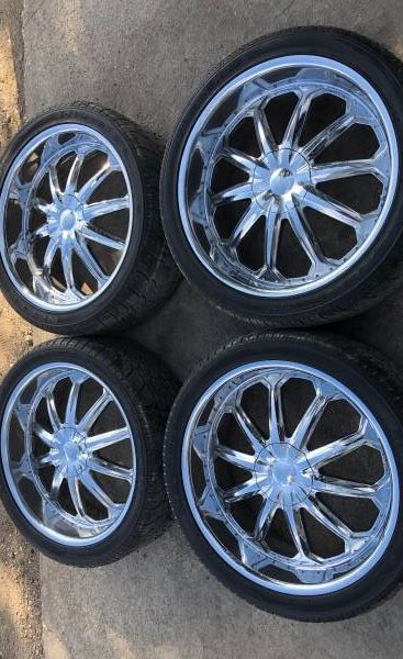 F150 Bolt Pattern >> Like New Ford F150 24 Rims Tires Wheels Expedition Original