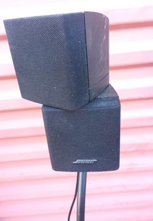 Bose Double Cube with Stand for Sale in Burke, VA