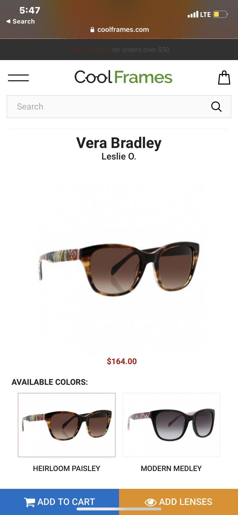 Vera Bradley Glasses