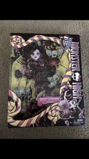 Monster High Sweet Screams Draculaura Doll for Sale in Elk Grove, CA