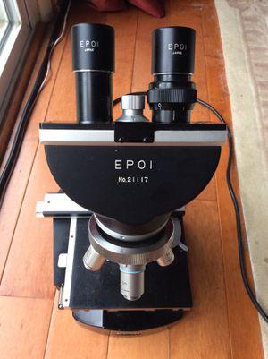 Nikon epol lob microscope four lenses 4/0.1 HI 100/1.25 40 0.65/0.17 10/25 Tested working for Sale in Rockville, MD