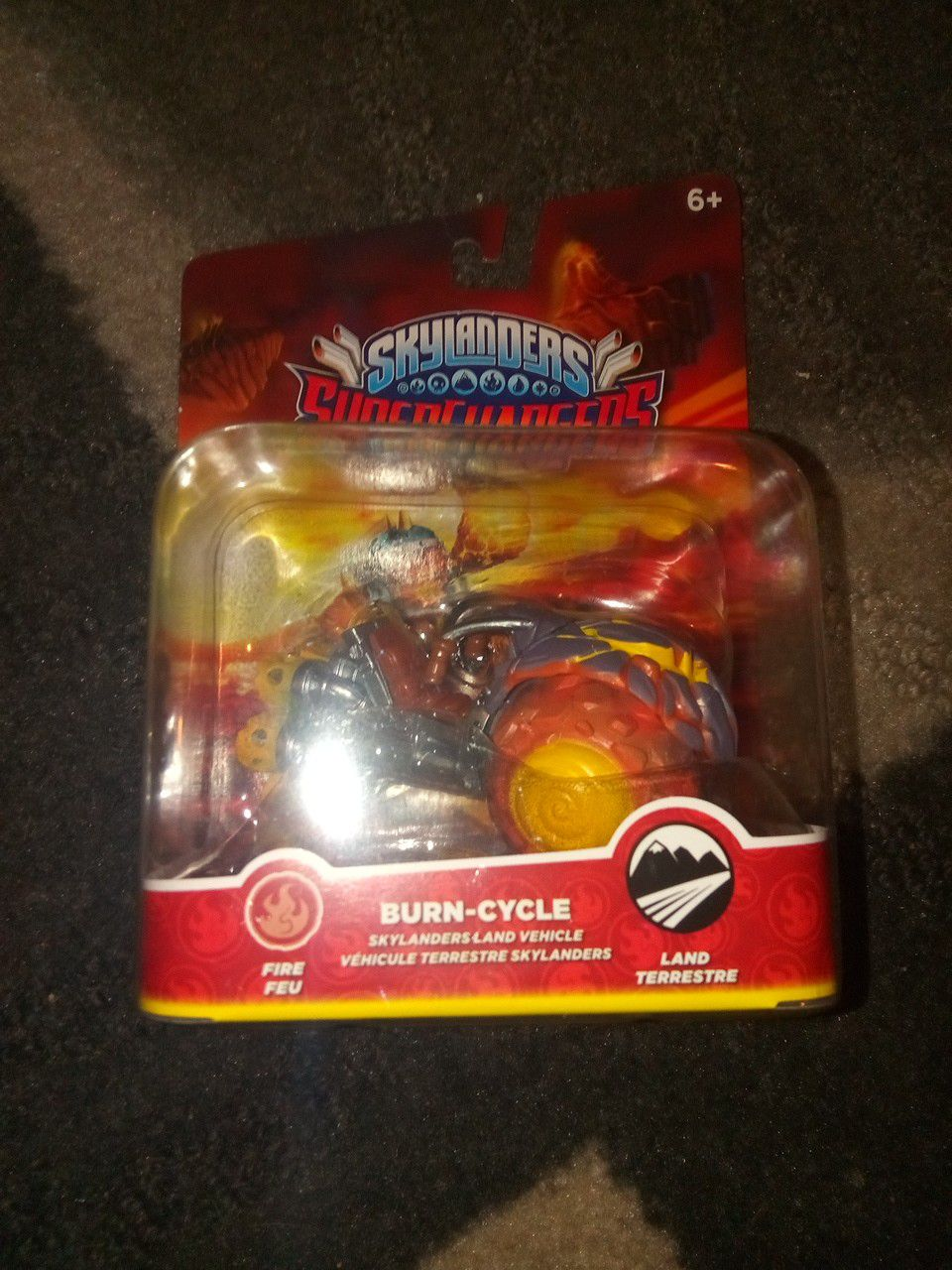 Skylanders Supercharger Burn Cycle New In box