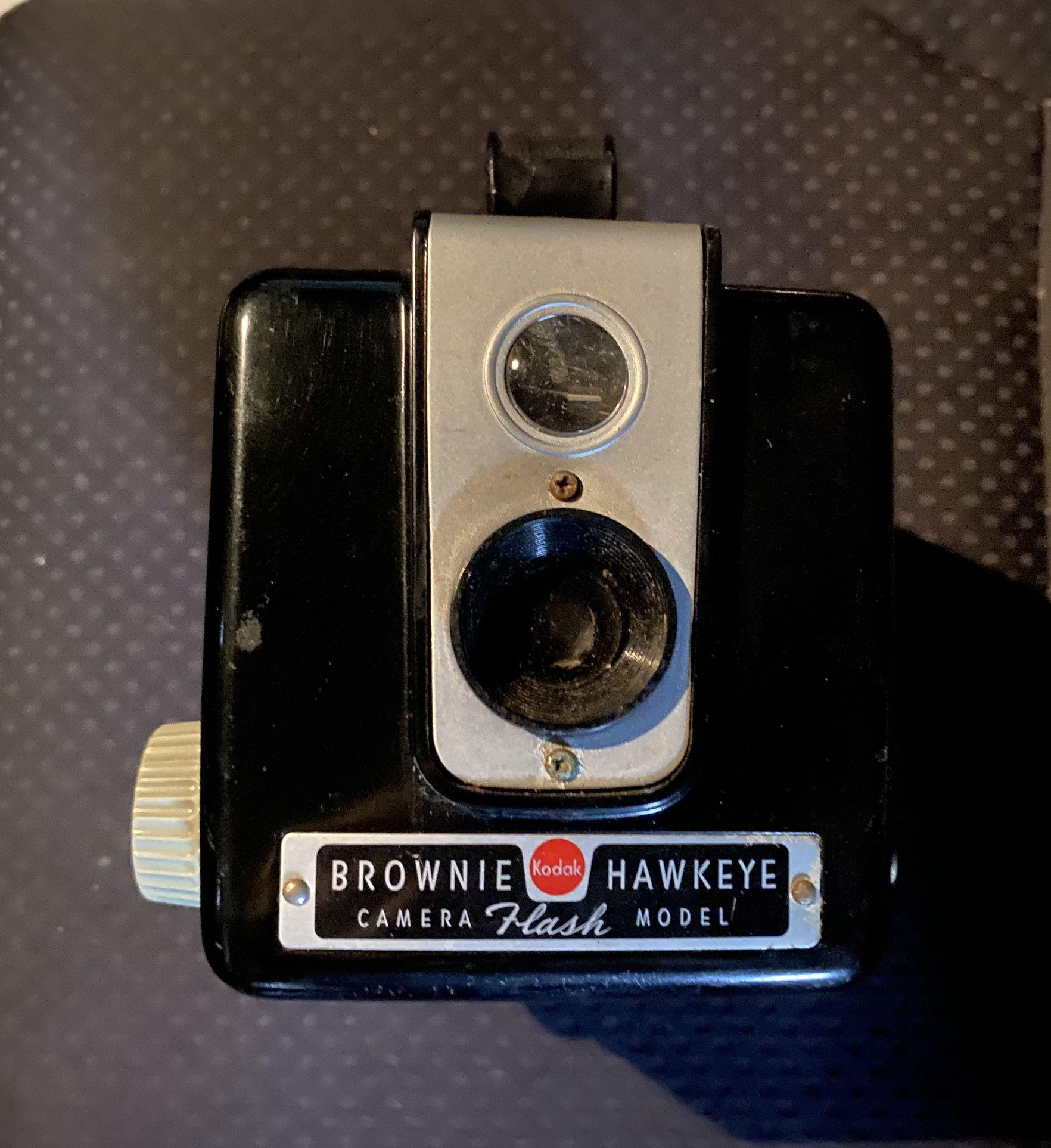 Kodak Vintage Brownie Hawkeye 1950's Camera