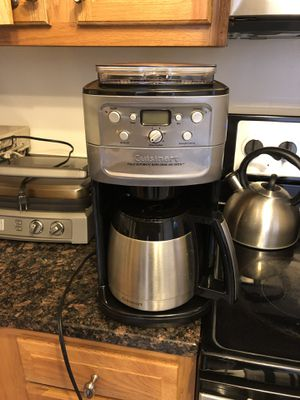 Cuisinart coffee maker and grinder. Perfect condition. for Sale in Arlington, VA