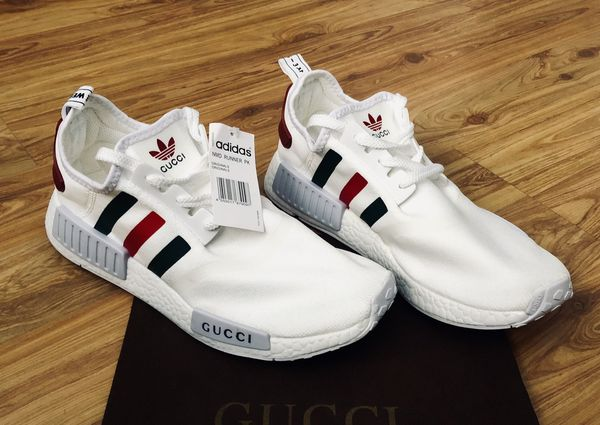 f32d2428cc6 New Gucci X Adidas NMD Runner PK - Size 10 for Sale in Highland ...