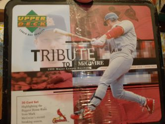 Upper Deck Lunch Box Tributes Mark McGwire Thumbnail