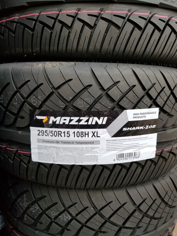 Toyota Of Renton >> 295-50-15 New Tires Mazzini 2955015 for Sale in Los ...