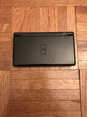 Black Nintendo DS Lite With Stylus For Parts or Repair for Sale in New York, NY