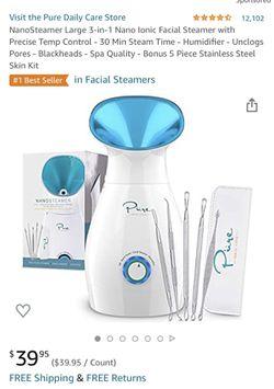 Steam face humidifier pores Thumbnail