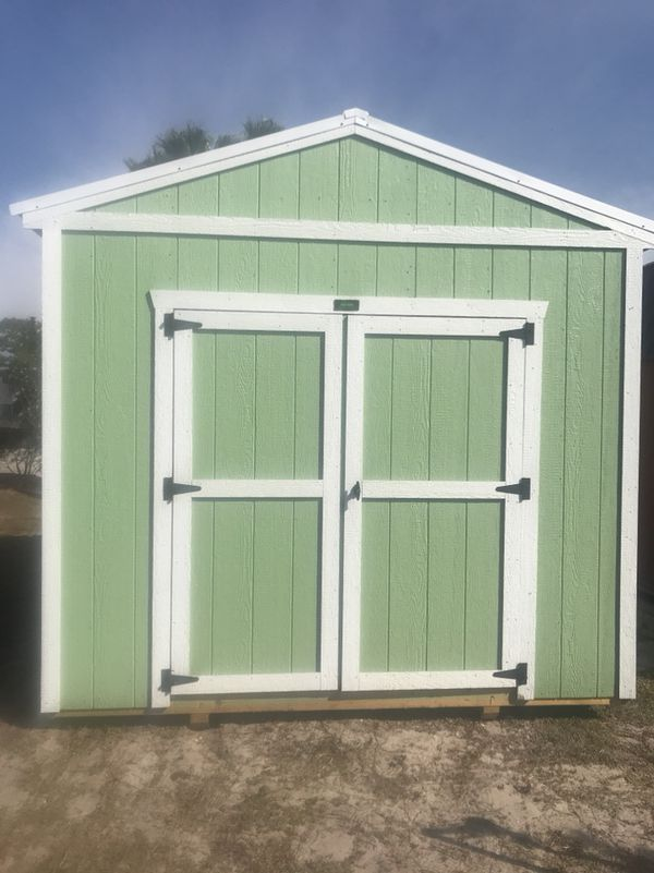 A Frame Double Shed Storage Unit For Sale In Orlando Fl