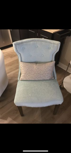 Blue Accent Chair for Sale in Alexandria, VA