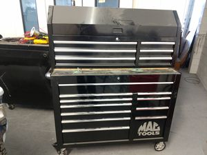Large Rolling Mac Tool Box filled with auto body tools for Sale in Winter Park, FL