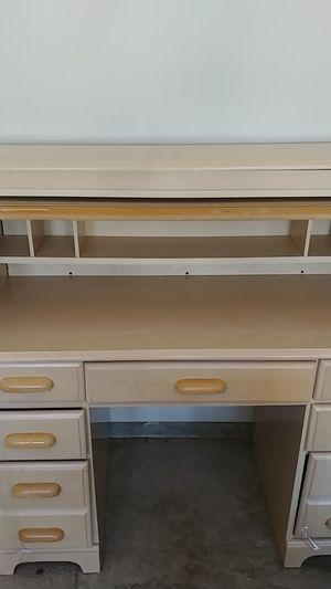 Photo Used Heavy Duty Office/Dresser Secret Compartment Desk