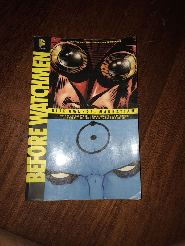 Before Watchmen Graphic Novel For Sale In Los Angeles Ca Offerup