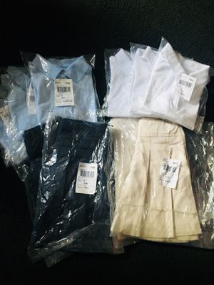 Girls Uniforms From The Childrens Place Size 6 Slim For Sale In