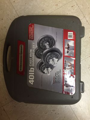 Weight set for Sale in Rockville, MD