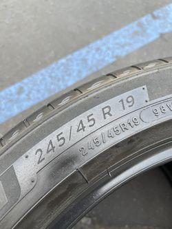 245/45/19 Michelin Primacy Tour  Thumbnail