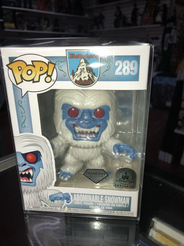 Matterhorn Diamond Collection Park Exclusiv Funko Pop  #289 Abominable Snowman