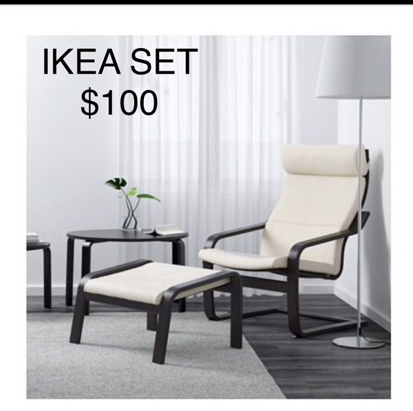 Superb Ikea Poang Chair Ottoman For Sale In Mount Healthy Oh Gmtry Best Dining Table And Chair Ideas Images Gmtryco