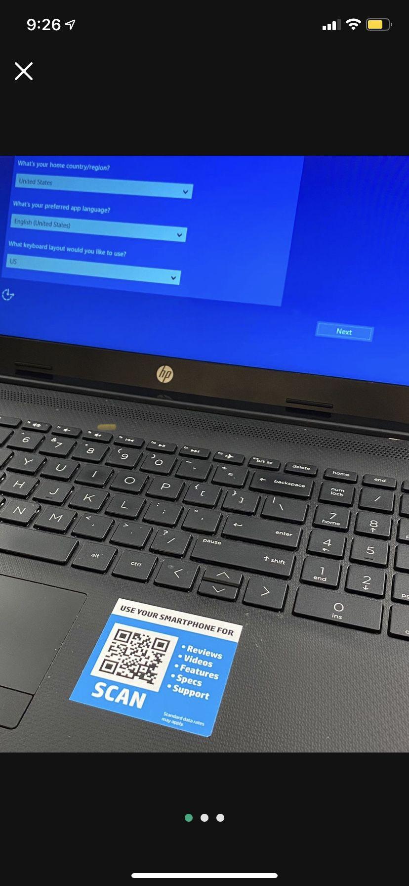 HP Laptop 15 Db1xxx