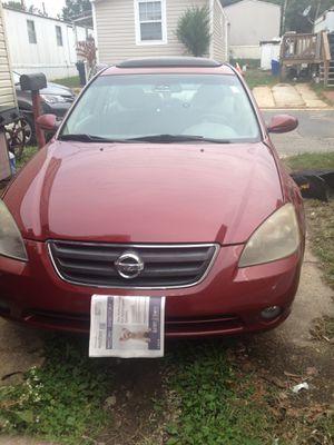 Año 2003 Nissan Altima en perfecta con diciones for Sale in Alexandria, VA