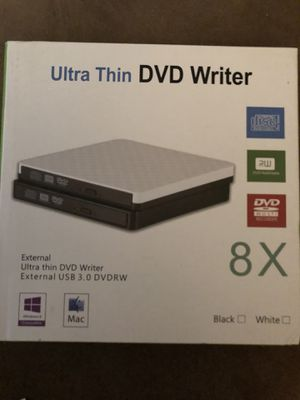 Ultra thin dvd writer for Sale in Silver Spring, MD