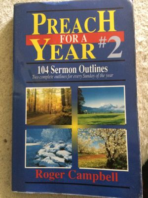 Sermon book (Christian) for Sale in Austin, TX