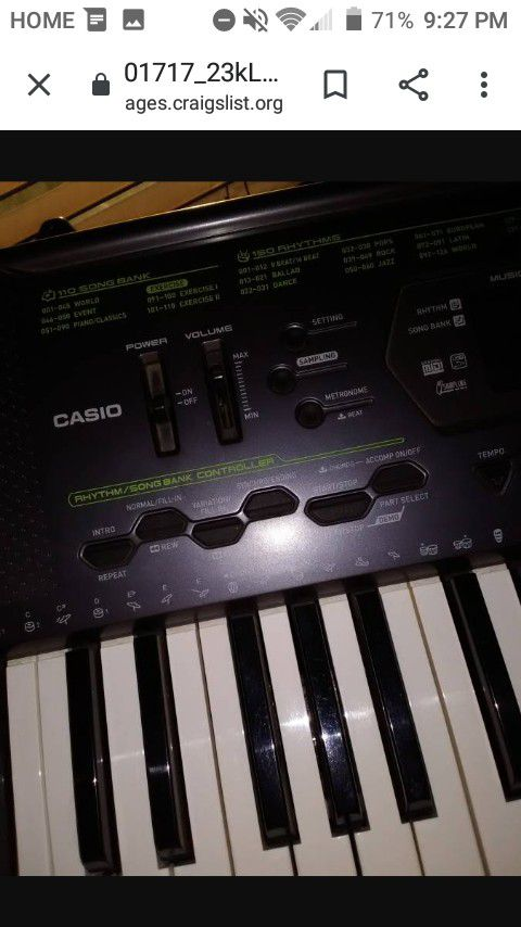 New and Used Music keyboard for Sale in Moreno Valley, CA