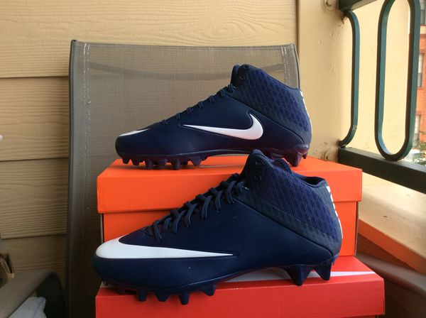 NEW MEN S NIKE VAPOR SPEED 2 3 4 TD CF MID FOOTBALL CLEATS Sz 10.5 8be4f49fd3e