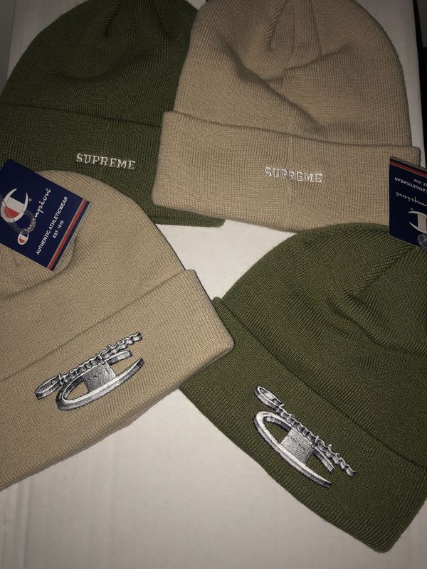 1ee5e3a5b6cad SUPREME X CHAMPION BEANIES for Sale in Concord