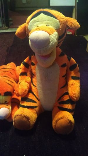 Talking Tigger and plush Tigger for Sale in New Canton, VA