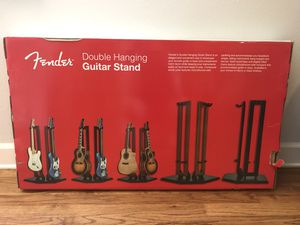 Fender Double Hanging - Black Guitar Stand for Sale in Orlando, FL