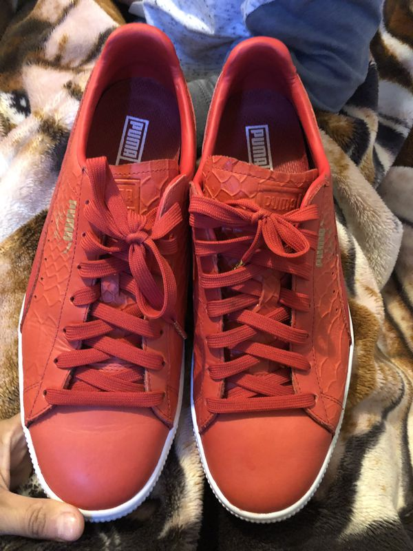 outlet store 228a9 6aeae Red Puma Clyde signature for Sale in San Diego, CA - OfferUp