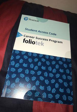 Foliotek Career Success Program , Pearson for Sale in Adelphi, MD