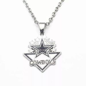 1pcs/lot Arrow Enamel Football Team Dallas Cowboys Pendant Necklace 20 Inch Chains Necklace DIY Women Men Necklace Jewelry for Sale in Bethesda, MD