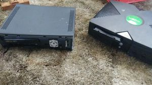 Xbox 360 elite, and first Xbox consoles for sale  Tulsa, OK