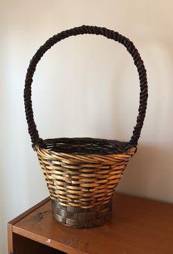 Planter wicker basket Thumbnail
