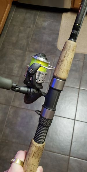 Lamiglas fishing rod and reel for Sale in Marysville, WA