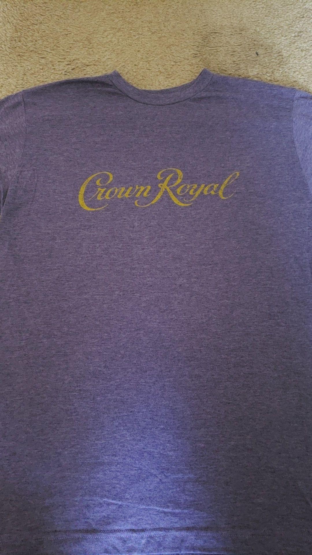 Crown royal t shirt
