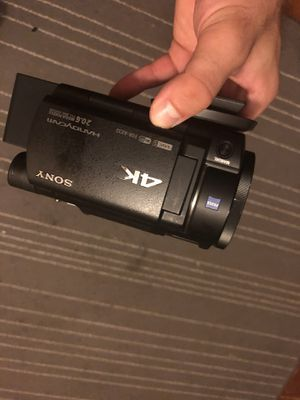 Sony fdr ax-33 4K camcorder for Sale in Portland, OR