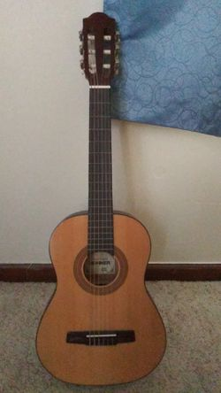 Acoustic guitar with nylon strings Thumbnail