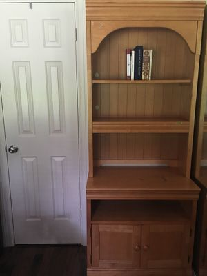 Stanley solid oak bedroom or office storage for Sale in Sugar Land, TX