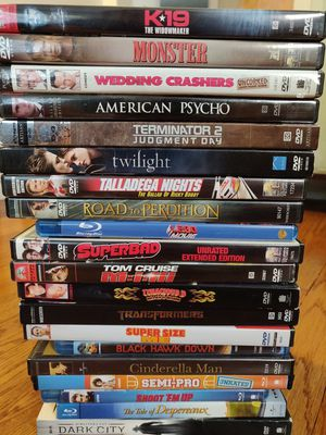 Set of Movies on DVD & Blu-ray for Sale in Chicago, IL