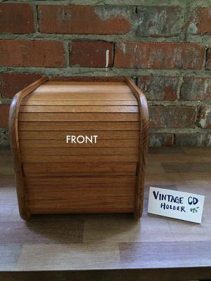 ViNTAGE CD HOLDER for Sale in Dallas, TX