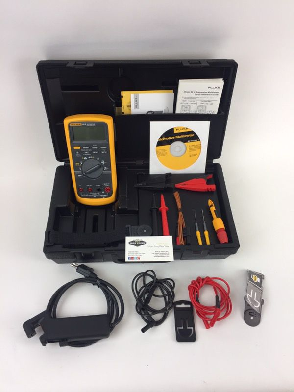 Fluke 88V/A Combo Kit Automotive Meter for Sale in Las Vegas, NV - OfferUp