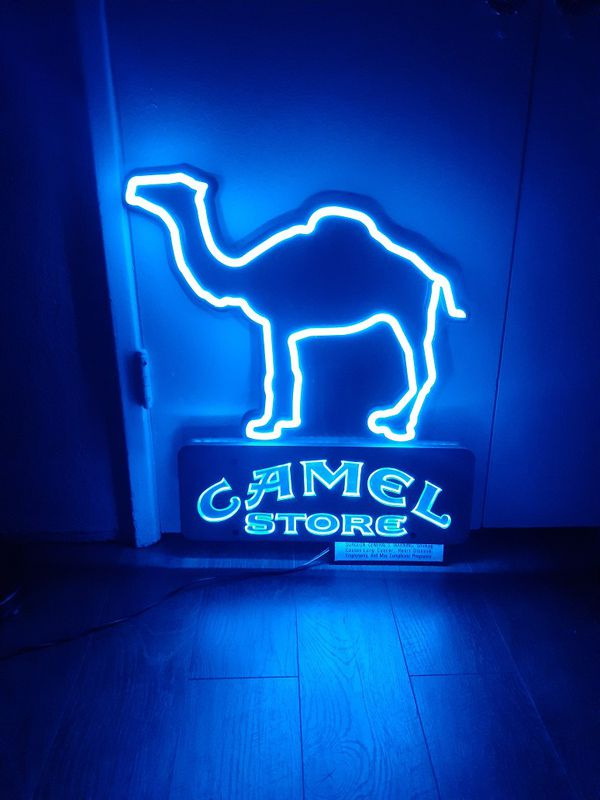 Vintage Camel Neon Sign For Sale In Los Angeles Ca Offerup
