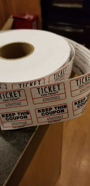 Role of raffle tickets for Sale in Austin, TX