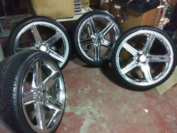 Iroc Rims 22 5x120 700 For Sale In Queens Ny Offerup